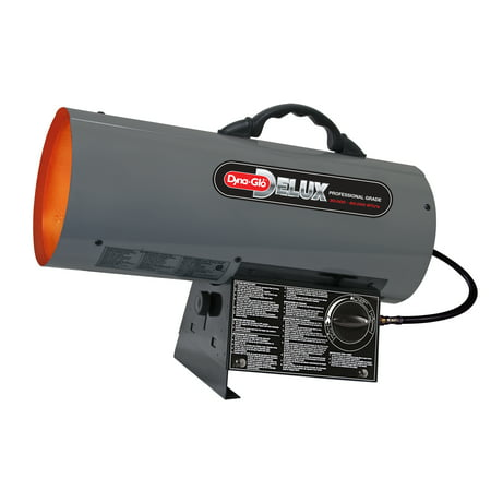 Dyna-Glo Delux 30,000 - 60,000 BTU, Forced Air, LP Propane Space Heater