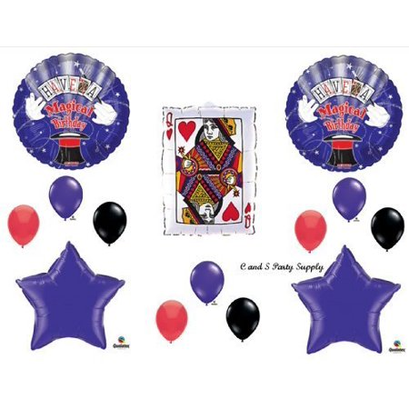 HAVE A MAGICAL BIRTHDAY PARTY Balloons Decorations Supplies Magician by Anagram