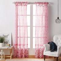 Deals on The Pioneer Woman Country Calico Pole Top Curtain Panel 95-in