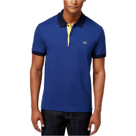 Lacoste Mens Colorblocked Rugby Polo Shirt