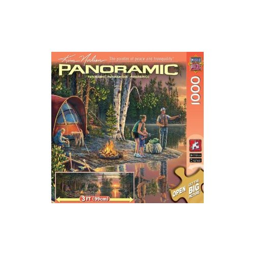 MasterPieces / Kim Norlien Panoramic 1000-piece Puzzle, Catching Memories Multi-Colored