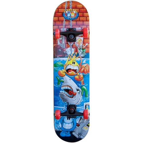 Flameboy/Wet Willy Rebel Series Skateboard, Shark Tank