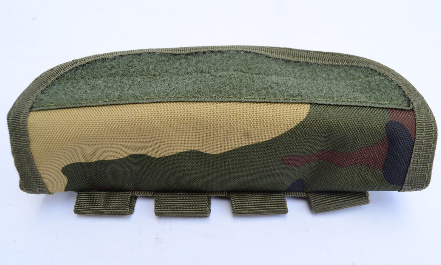 Shotgun Shell holder Tactical MOLLE Equipped Hunting pouch Woodland Camouflage by