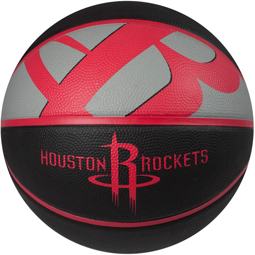 Spalding Team Logo Basketball, Houston Rockets