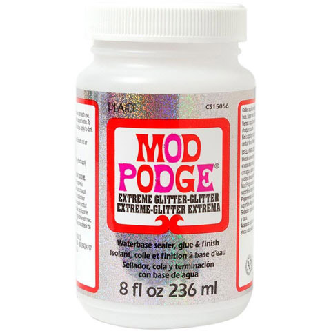 Mod Podge Glitter Sealant Extreme Glitter 8 ounces