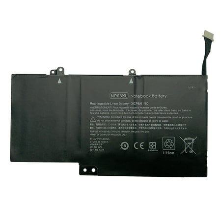Superb Choice® Battery for HP Pavilion X360 13-A010DX 13-b116t - image 1 of 1