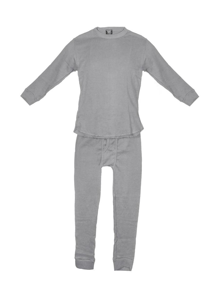 Northwest Blue Boys 2 Piece Performance Thermal Underwear Set