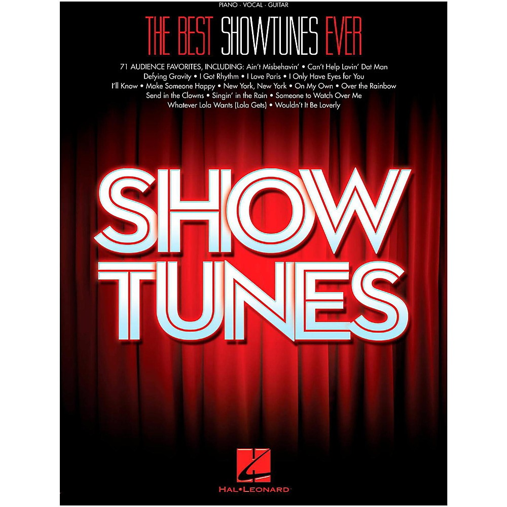 Hal Leonard The Best Showtunes Ever for Piano/Vocal/Guitar