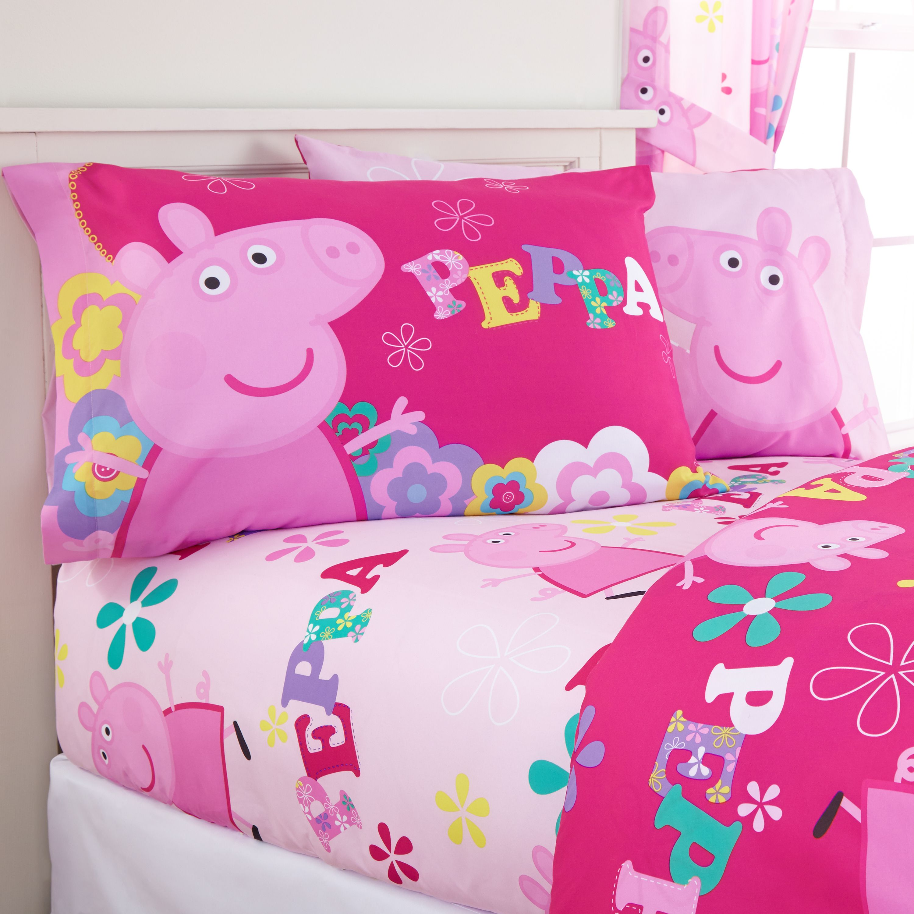 Peppa Pig 'Tweet Tweet Oink' Kids Sheet Set