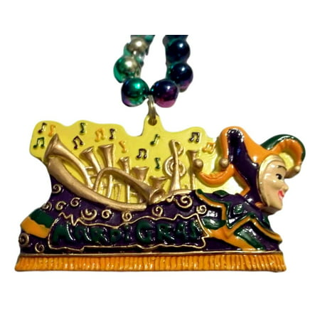 Jester Float Parade Bead Mardi Gras Beads Party Favor Necklace