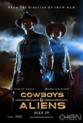 Cowboys And Aliens Mini Movie 11x17 by