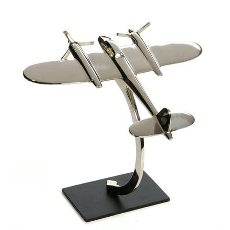 - Decorative Tabletop Sculpture Plane