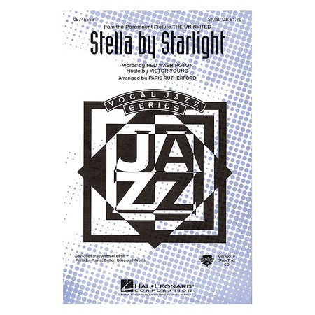 Hal Leonard Stella by Starlight ShowTrax CD Arranged by Paris Rutherford
