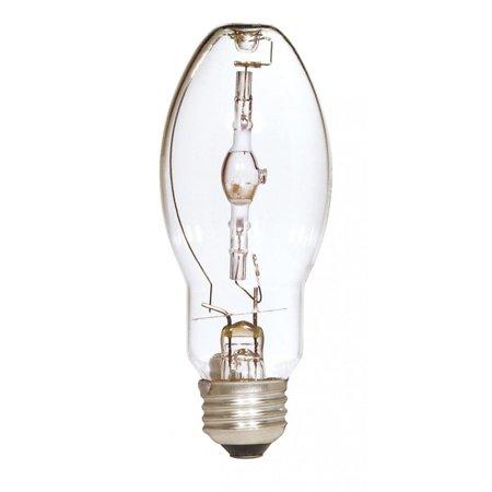 Satco Lighting S5854 Single 50 Watt ED17 Shaped Medium (E26) Base Metal Halide Bulb