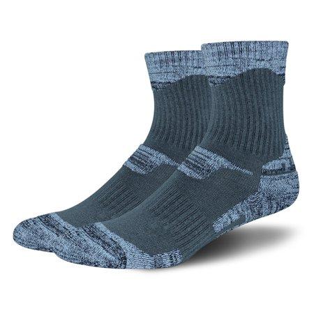 Outdoor Ski Mountaineering Hiking Sports Running Socks Autumn and Winter Towel Socks (Hiking Running T-shirt)