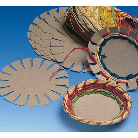 Raffia Basket Group Pack, Makes 24