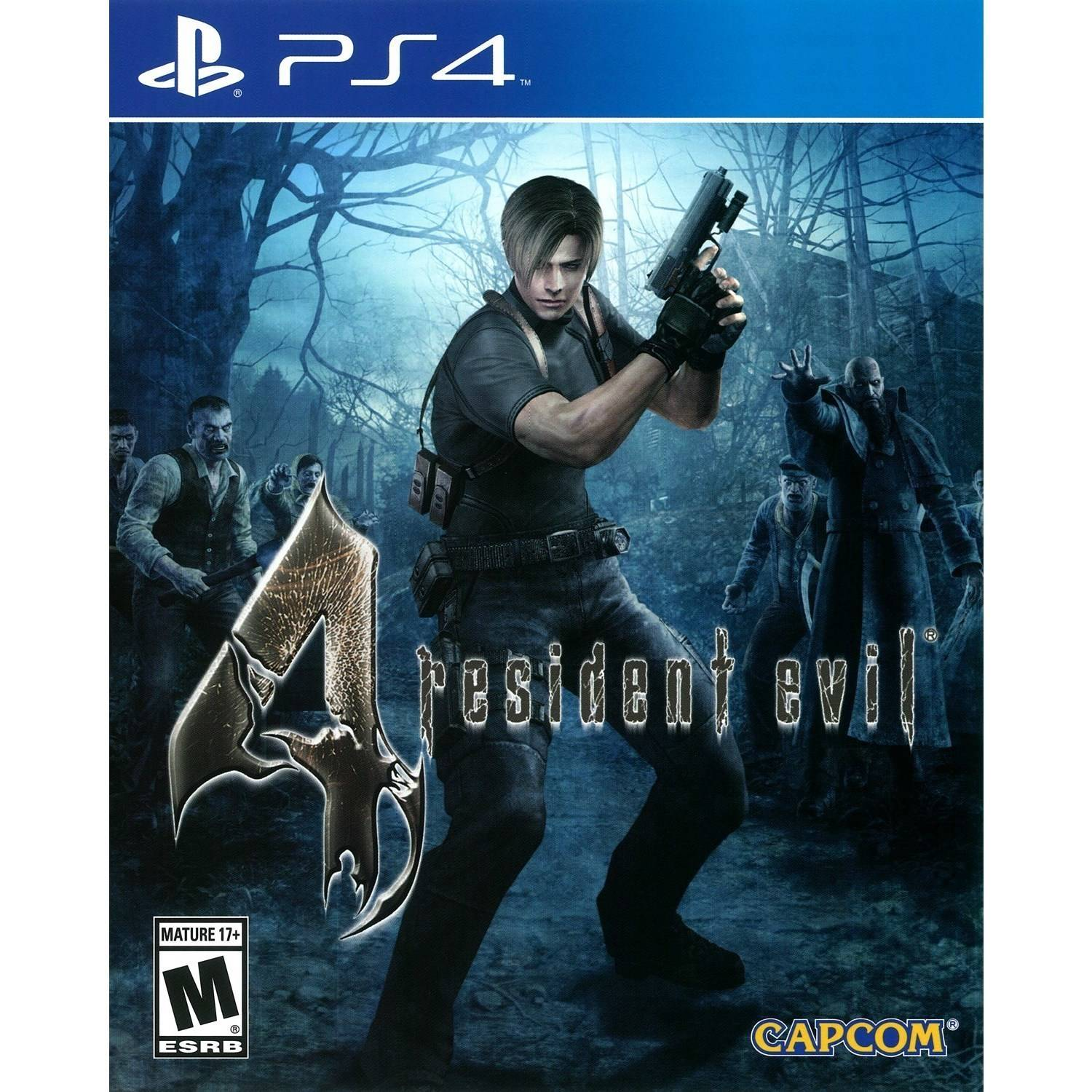 Resident Evil 4 HD - Pre-Owned (PS4) - Walmart.com