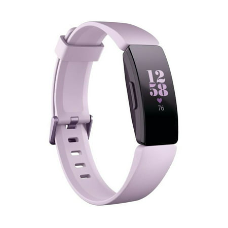 Fitbit Inspire HR Fitness Tracker + Heart Rate - Small and Large Wristbands - Homework Tracker