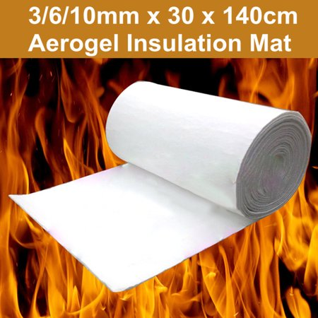 30x140cm 3/6/10mm Super Light Silica Aerogel Insulation Hydrophobic Mat