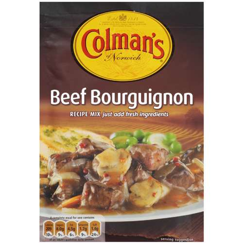 Colman's Of Norwich Beef Bourguignon Recipe Mix, 1pk