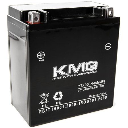 KMG 12 Volts 18Ah Replacement Battery for Suzuki Marauder, Boulevard M95 2004-2005 - image 3 of 3