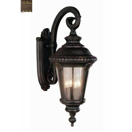 Trans Global Lighting 5045 Bc Estate 4 Light Outdoor Coach Black Copper