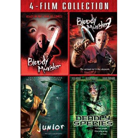 4 Film Collection: Bloody Murder / Bloody Murder 2 / Junior / Deadly Species (Films For Juniors)