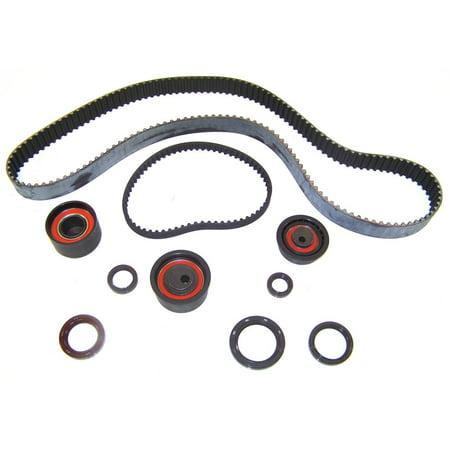 DNJ TBK107A Timing Belt Kit For 92-95 Mitsubishi Elantra 1.6L DOHC 16v VIN R (Dohc 16v Timing Belt)