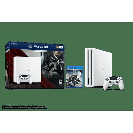 Playstation 4 Pro 1Tb Limited Edition Destiny 2 Bundle  White  3002210