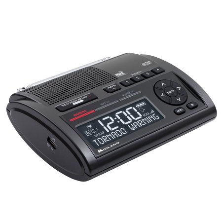 Wr400 Deluxe Noaa S A M E  Weather Radio