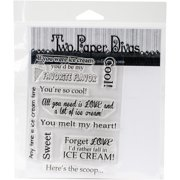 Two Paper Divas Clear Stamps 6 Inch X 4.5 Inch-Heres The Scoop