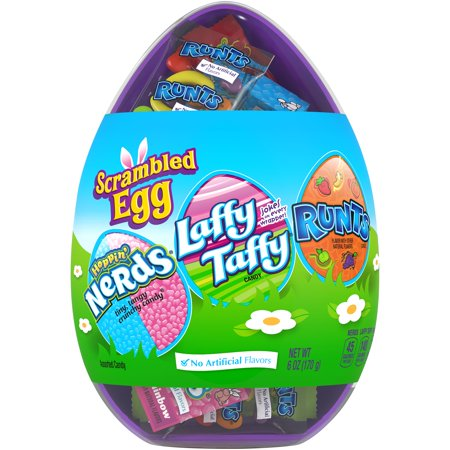 NESTLE Scrambled Egg Assorted Easter Candy 6 oz. Container