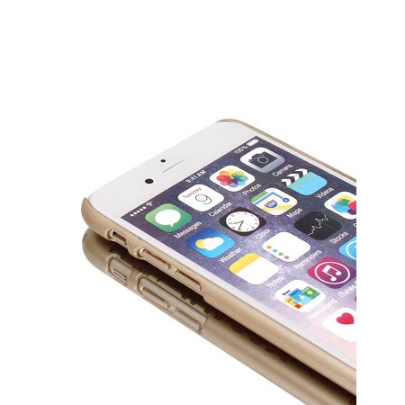 """Gold Tone PVC Ultra Thin Vintage Print Case Cover for iPhone 6 4.7"""" - image 5 of 6"""