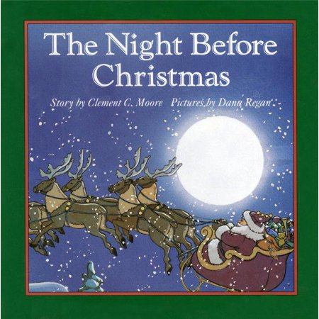 The Night Before Christmas Board Book ()