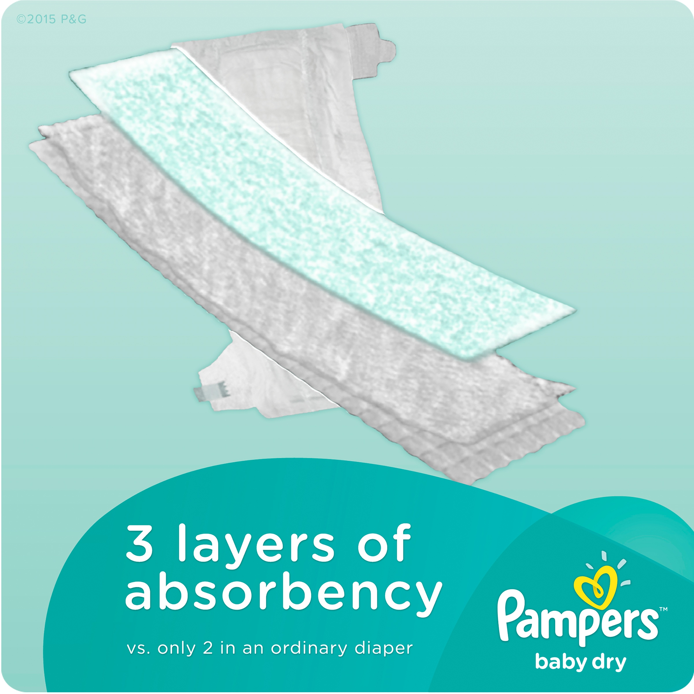 Pampers Baby Dry Diapers, Size 1, 252 Diapers - Walmart.com
