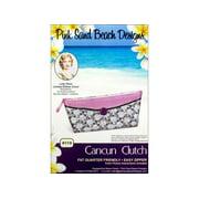 Pink Sand Beach Downton Abbey Cancun Clutch Ptrn