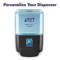 - Purell® ES4 Wall-Mount Soap Dispenser, Graphite