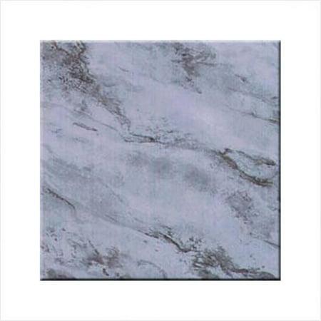 Mcgowan Tt00096 Tuftop Tempered Glass Marble Design Trivet  Trivet