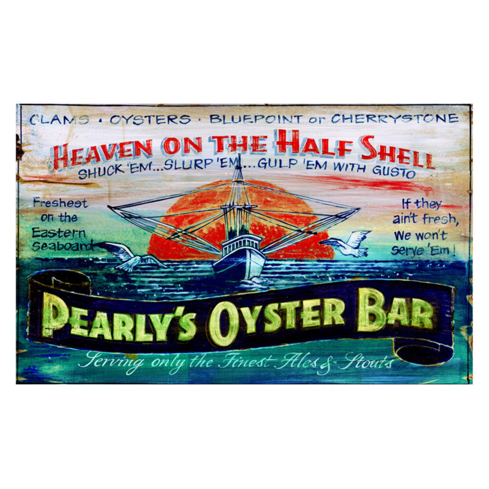 Pearly's Oysters Wall Art