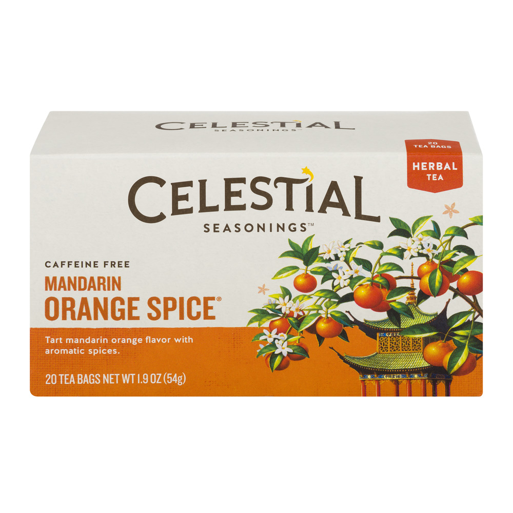 Celestial Seasonings Mandarin Orange Spice Herbal Tea - 20 CT