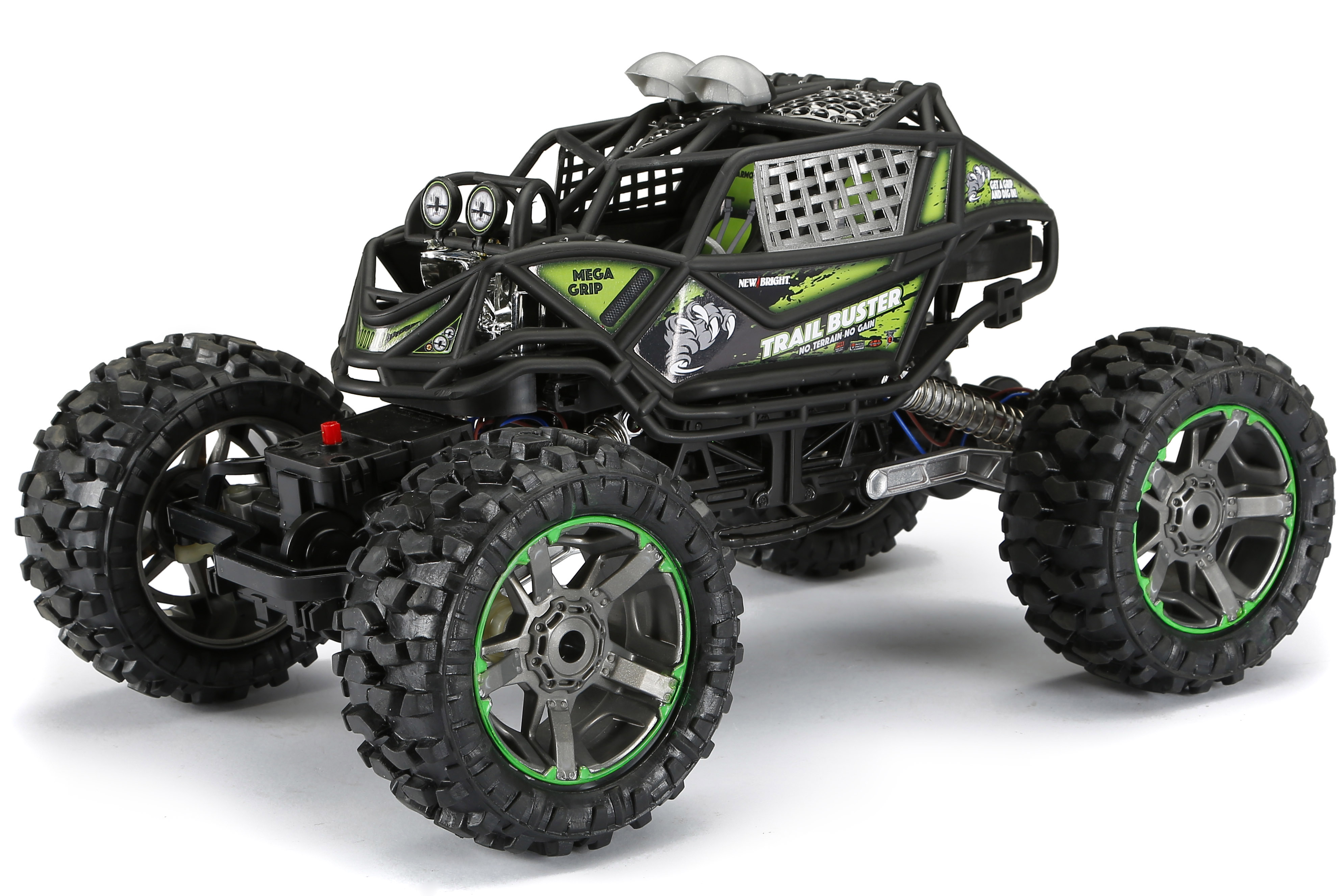 New Bright RC 1:10 Scale 4x4 Radio Control Trail Buster by New Bright Industrial Co., Ltd.