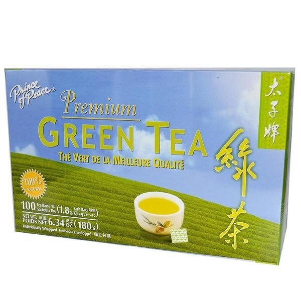 Premium Green Tea Prince Of Peace 100 Bag