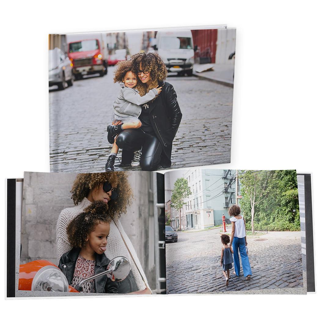 8x11 Hard Custom Cover Photo Book