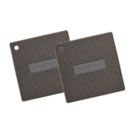 Cuisinart Multipurpose Flexible Silicone Trivets, Kitchen Tools - Heat Resistant Pads Up to 500 degrees F