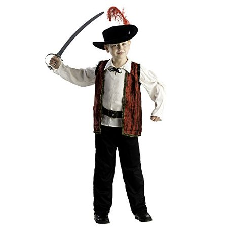 Courageous Musketeer Costume - Size Large 12-14 (Musketeer Costume)