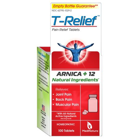 T-Relief Joint, Muscle & Back Pain Relief Tablets, 100 ct - Halloween T Pain
