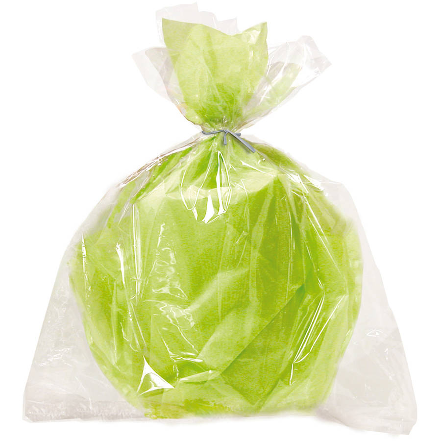 Cellophane Large Bags, 6-Count, Clear
