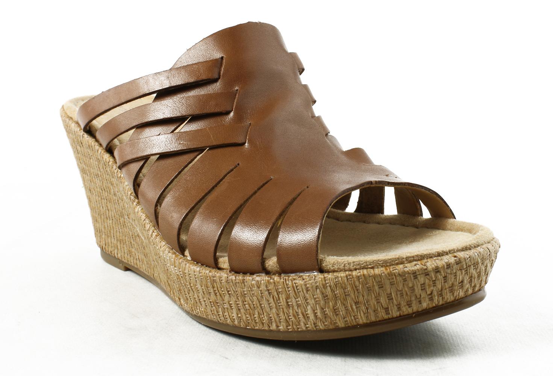 New Naturalizer Womens E1565l1-200 SaddleTan Slides Size 10 by Naturalizer