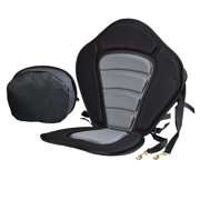 11.7 x 14.8inch Portable Adjustable Strap Fishing Kayaking Canoeing Padded Seat with Backrest HDPML by