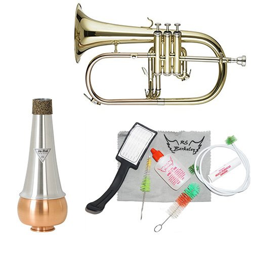 Band Directors Choice Lacquer Flugelhorn W Essentials Kit by Band Directors Choice Flugelhorns